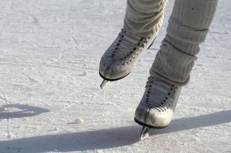 Maarssen on Ice in park Goudestein
